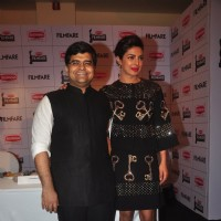 Priyanka Chopra with Jitesh Pillai at the Launch of the New Edition of the Filmfare Awards