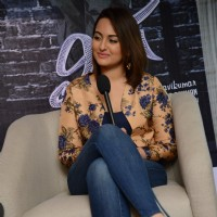 Sonkshi Sinha was at the Promotions of Lingaa