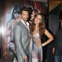 Karan Singh Grover and Bipasha Basu were at the Trailer Launch of Alone