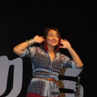 Sonakshi Sinha Performs at the Promotions of Tevar at Mithibai College