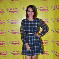Sonakshi Sinha at the Promotion of Tevar on Radio Mirchi 98.3 FM