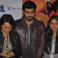 Arjun Kapoor and Sonakshi Sinha snapped at the Promotions of Tevar at Jaipur