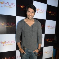 Shaleen Malhotra poses for the media at A Soiree Evening at HYMUS