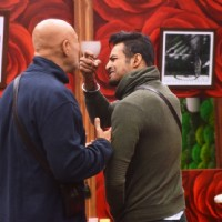 Puneet Issar and Upen Patel indulge in a fight in Bigg Boss 8