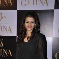 Prachee Shah Pandya poses for the media at GEHNA Jewelers Collection Launch 'KJO FOR GEHNA'