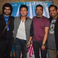 Celebs pose for the media at the Special Screening of Mitwaa