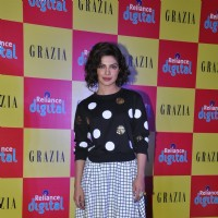 Priyanka Chopra poses for the media at the Launch of Grazia's New Issue