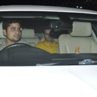 Sharman Joshi was snapped at the Special Screening of P.K. at Yashraj Studio