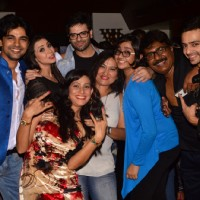Diya Aur Baati Hum Team pose for the camera at India-Forums 11th Anniversary Bash