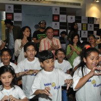 Children perform at Take It Easy Movie Launch