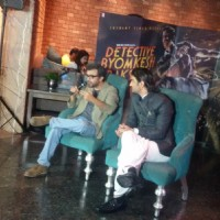 Dibakar Banerjee addressing the audience at the Poster Launch of Detective Byomkesh Bakshy!
