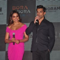 Karan Singh Grover interacts with the audience at the Success Bash of Alone's Trailer