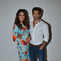 Bipasha Basu & Karan Singh Grover at the Promotions of Alone