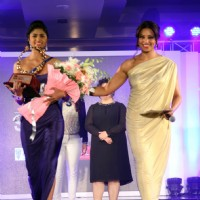 Bipasha Basu with the winner of Femina Style Diva 2014
