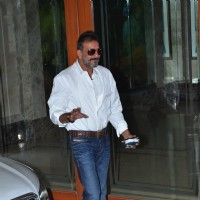 Sanjay Dutt was snapped at his Media Meet