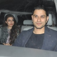 Kunal Khemu and Soha Ali Khan were snapped at Salman Khan's Birthday Bash