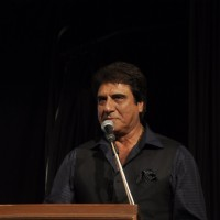 Raj Babbar addressing the audience at Ali Peter John Book Launch