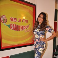 Bipasha Basu at the Promotions of Alone on Radio Mirchi 98.3 FM