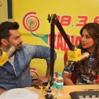 Karan Singh Grover and Bipasha Basu at the Promotions of Alone on Radio Mirchi 98.3 FM