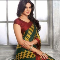 Jennifer Winget in saree photoshoot of Vipul Fashions.