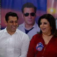 Salman Khan and Farah Khan on Bigg Boss 8