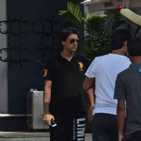 Shiamak Davar was snapped Leaving for Saifai Mahotsav Fest