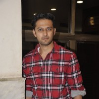 Vatsal Sheth poses for the media at a School Event