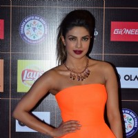 Priyanka Chopra poses for the media at Star Guild Awards