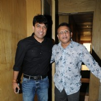 Vishwas Pandya with Annu Kapoor at the Launch of the film Baa Baa Black Sheep