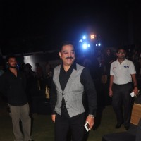 Kamal Haasan was snapped at the Music Launch of Shamitabh