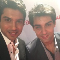 Siddharth Shukla with Karan Wahi