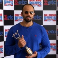 Rohit Shetty was at Zee ETC Bollywood Business Awards 2014