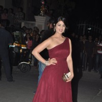 Anjana Sukhani was seen at the 60th Britannia Filmfare Awards