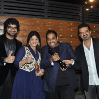 Siddharth & Shankar Mahadevan with Ehsaan Noorani at the 60th Britannia Filmfare Awards