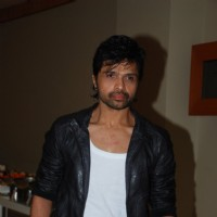 Himesh Reshammiya poses for the media at Radio Mirchi Awards Jury Meet