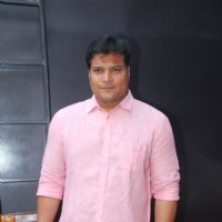 Dayanand Shetty poses for the media at the Promotions of Badlapur on CID