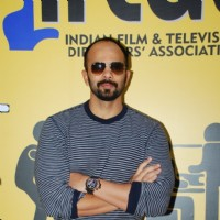 Rohit Shetty poses for the media at IFTDA Office Opening