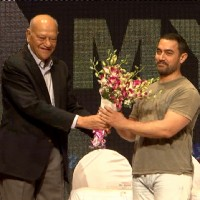 Aamir Khan was felicitated at YFG Event