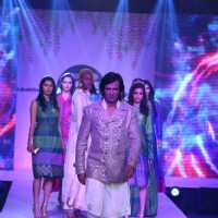Kay Kay Menon walks the ramp at Jabong Online Fashion Week