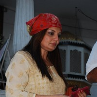 Deepshikha Nagpal was seen at Madan Mohan's Prayer Meet