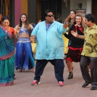 Ganesh Acharya performs at the Promotions of Hey Bro on Taarak Mehta Ka Ooltah Chashmah