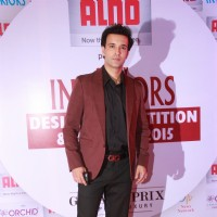 Aamir Ali at the Society Interiors Design Competition & Awards 2015