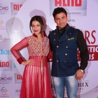 Payal Rohatgi and Sangram Singh at the Society Interiors Design Competition & Awards 2015