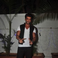 Kushal Tandon was seen at Gurmeet Choudhary's Birthday Bash