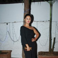 Rashmi Desai at Gurmeet Choudhary's Birthday Bash