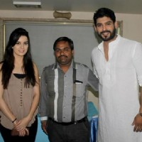 Siddharth Shukla with Ekta Kaul