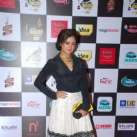 Rashmi Desai poses for the media at Radio Mirchi Awards
