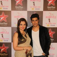 Deepshikha Nagpal with her husband at Star Plus Presents Anmol Hai Tu- Nayi Soch Ko Salaam