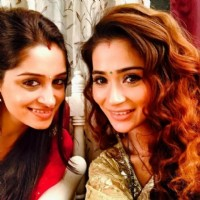 Dipika Samson with Sara Khan