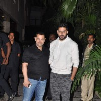 Aamir Khan and Abhishek Bachchan pose at the Celebration of Kunal Kapoor's Upcoming Wedding